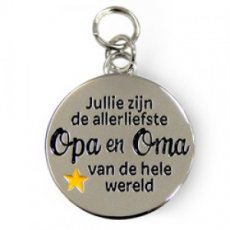 Charms for You - Opa en Oma rond