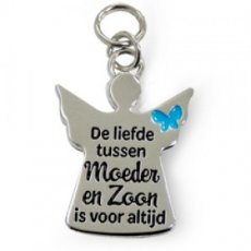 Charms for You - Moeder en Zoon Engel