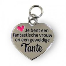 Charms for You hangertje - Tante Hartje