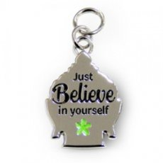 Charms for You hangertje - Believe Boeddha