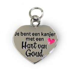 Charms for You - Hart van goud
