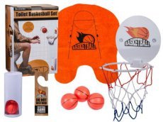 Toiletspel Basketbal set WC/Toilet