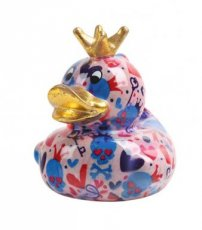 "Pomme-Pidou Moneybank Duck ""King Ducky"""