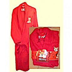 Badjas fleece Medium