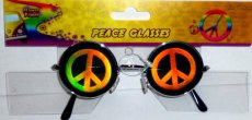 60414 Bril hologram 'Peace'