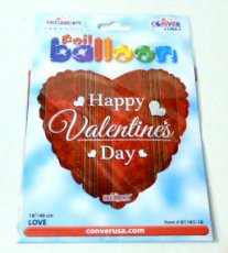 Folie ballon Valentijn 18inch Happy Valentine's day