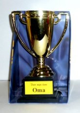 Gold Cup 'Lieve Oma'