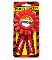 Party Rozet 'Pensioen'